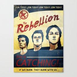 The Rebellion - Propaganda Canvas Print