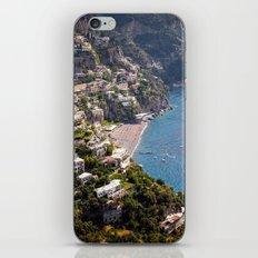 Positano Italy Harbor - Mediterranean Sea iPhone Skin
