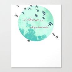 Cinderella's Song Canvas Print