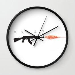 AK-47 Wall Clock
