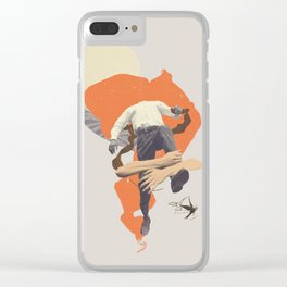 One more step Clear iPhone Case