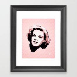 Judy Garland - Pop Art Framed Art Print