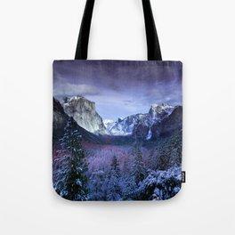 Yosemite in Winter Tote Bag