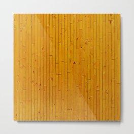 Wooden floor in other way Metal Print