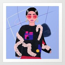 Parisienne Chic Art Print