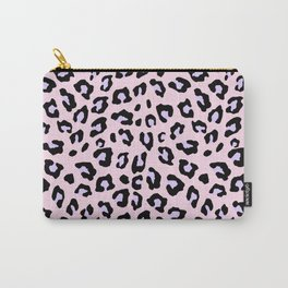 Leopard Print - Lavender Blush Carry-All Pouch