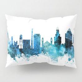 Durham North Carolina Skyline Pillow Sham