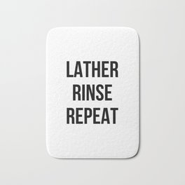 Lather Rinse Repeat Bath Mat