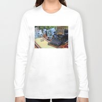 old school Long Sleeve T-shirts featuring Old School by ClaM