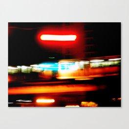 Night riding Canvas Print