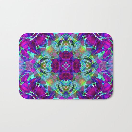 kaleidoscope Crystal Abstract G16 Bath Mat