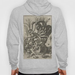 Grotesques 16th Century Illustration Hoody