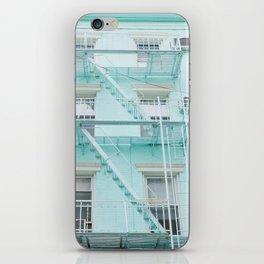 Blue in NYC iPhone Skin