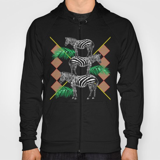 zebras in the jungle Hoody