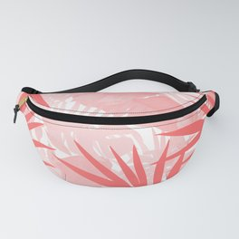 Elegant Tropical Blush Paradise Fanny Pack
