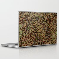 pain Laptop & iPad Skins featuring Pain by Salohann
