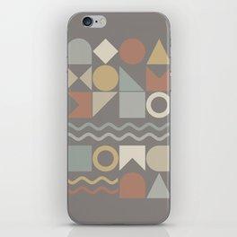 Geometric Shapes 02 iPhone Skin