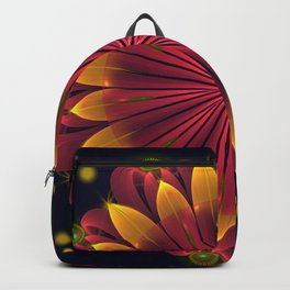 Cosmos flower Backpack