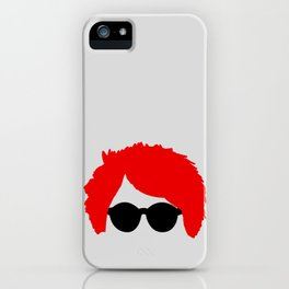 Gerard Way Red Hair & Glasses iPhone Case