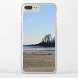 Tofino Beach Clear iPhone Case