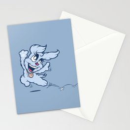 Luna & Lolli Blue - Lolli Dancing Stationery Cards