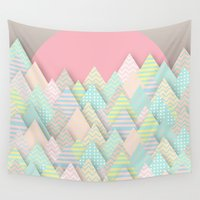 arnold Wall Tapestries featuring Forest Pastel by dogooder