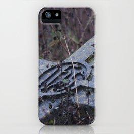 Headstone iPhone Case