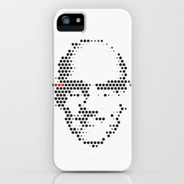 Foucault in Dots iPhone Case