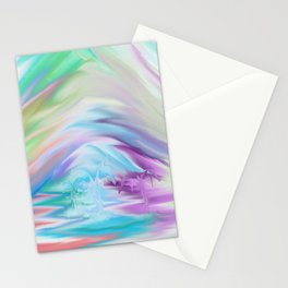 Rainbow After The Storm Stationery Cards