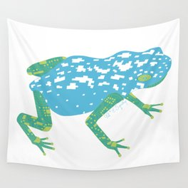 Robot Frog Wall Tapestry