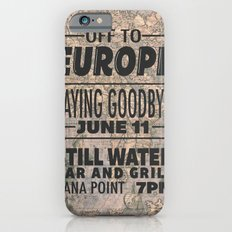 Off To Europe iPhone 6s Slim Case
