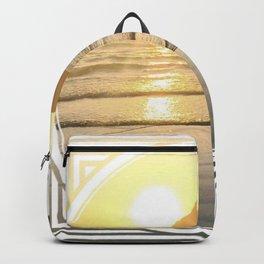 Port Erin - circle/line Backpack