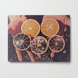 Naranjas Ciderales Metal Print