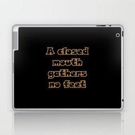 Funny One-Liner Gossip Joke Laptop & iPad Skin