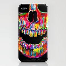 Chromatic Skull iPhone (4, 4s) Slim Case