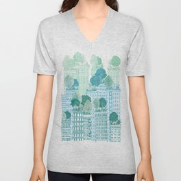 Juniper - A Garden City Unisex V-Neck