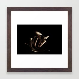 folds Framed Art Print