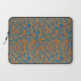 psychedelic Art Nouveau  Laptop Sleeve