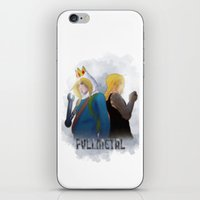 fullmetal alchemist iPhone & iPod Skins featuring Fullmetal by Witchy