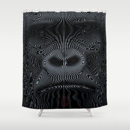 Did You See the Gorilla Shower Curtain