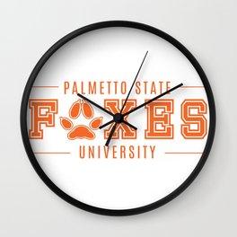 PSU Wall Clock