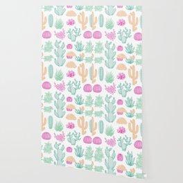 Cactus club II Wallpaper