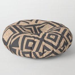 African Tribal Pattern No. 114 Floor Pillow