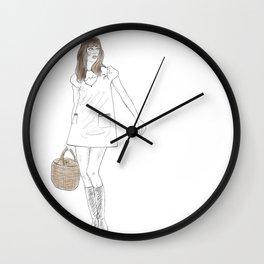 Jane Birkin Wall Clock