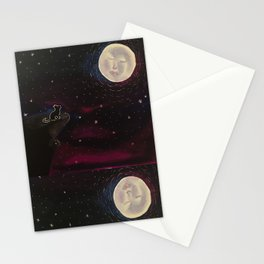 Cat night Stationery Cards