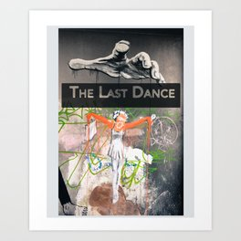 Last Dance | Street Art | Graffiti Art Print
