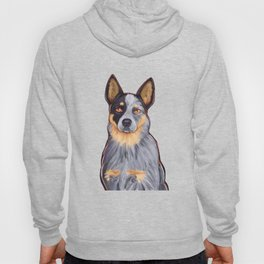 Blue Heeler in the Mountains Hoody