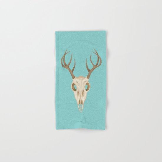 Deer Skull Hand & Bath Towel