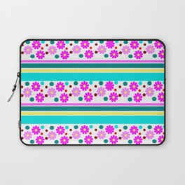 COLORFUL FLOWER Laptop Sleeve