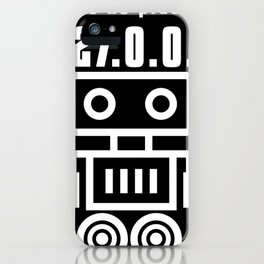 Theres No Place Like 127.0.01 Nerd Joke iPhone Case